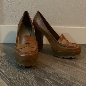 Girl MIA brown high heels
